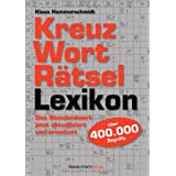 "Kreuzwortr�tsellexikon: �ber 400.000 Begriffevon ""Klaus Hammerschmidt"""