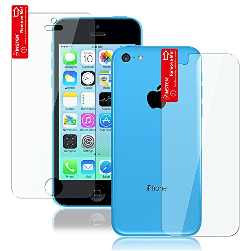 Insten® 2-Lcd Kit Reusable Screen Protector Compatible With Apple® Iphone® 5C