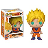 Funko Pop Anime Dragonball Z Super Saiyan Goku Action Figure, Multi Color