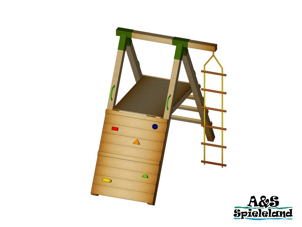 Spielturm JUNIOR 2.0 120cm günstig