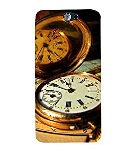 Vizagbeats pocket watch Back Case Cover for HTC One A9