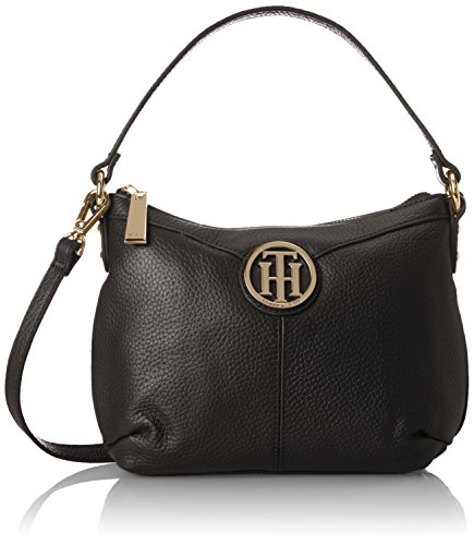 Tommy Hilfiger Maggie Pebble Mini Hobo Bag
