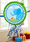 Blue Elephants Pull-String Pinata Party Accessory