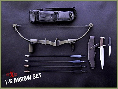 16-x-toys-model-toys-first-blood-black-bow-arrow-set-rambo-knife-for-12-figure