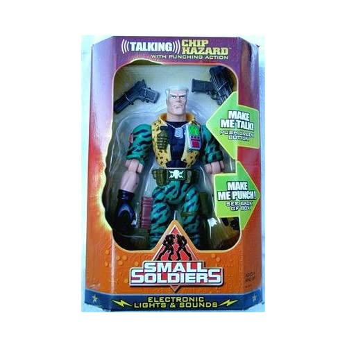 """Amazon.com: Small Soldiers 12"""" Talking Chip Hazard with Punching"""