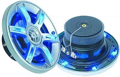 Einbaulautsprecher mit LEDs im Schutzgitter, 2x250 Watt LED-509 von unbekannt - Reifen Onlineshop