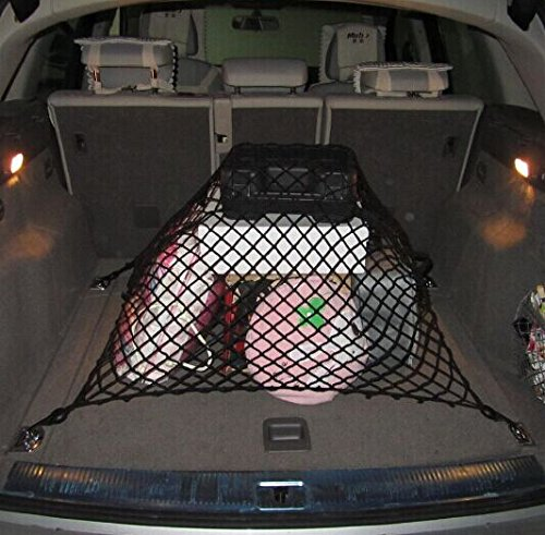 9 MOON Floor/Envelope Style 6 Hook Trunk Cargo Net for Honda Accord Civic CR-V CR-Z Crosstour Fit Odyssey Pilot Element (Car Trunk Net Honda Accord compare prices)
