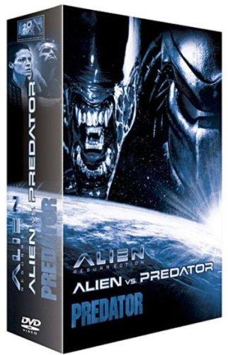 Alien vs Predator + Alien 4 : La résurrection + Predator - Coffret monstres cultes 3 DVD Coffret ...
