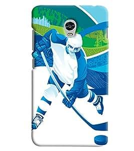 Blue Throat Men Doing Ice Skating Printed Designer Back Cover For Lenovo Vibe P1