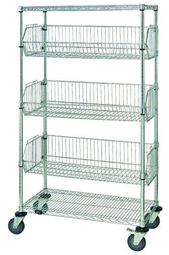 quantum storage systems m2448bc6c 5 tier mobile wire. Black Bedroom Furniture Sets. Home Design Ideas