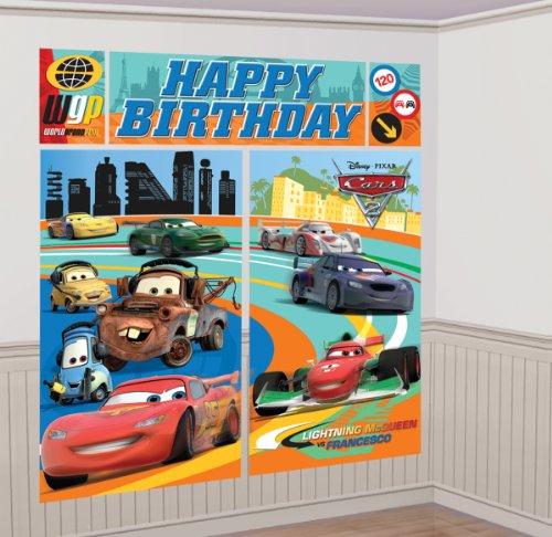 Disney Happy Birthday Scene Setter Car Theme