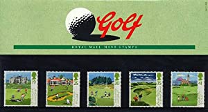 1994 Golf Presentation Pack PP217 (printed no. 249) - Royal Mail Stamps