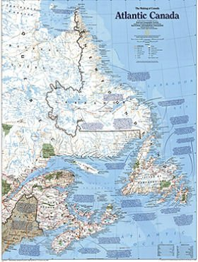National Geographic Maps RE01020527 Canada Classic