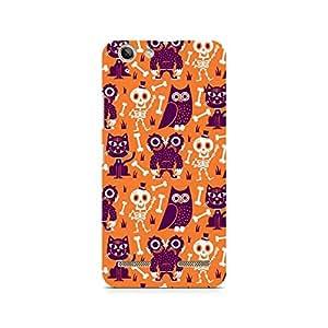 Ebby Owls and Skull Premium Printed Case For Lenovo K5 Plus