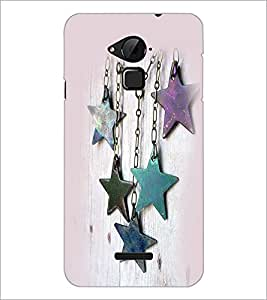 PrintDhaba Stars D-2382 Back Case Cover for COOLPAD NOTE 3 LITE (Multi-Coloured)