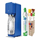SodaStream Source Metal Starter Kit, Blue