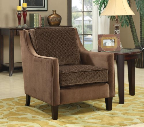 Recliner Chair And Stool 5672