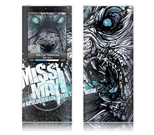 MusicSkins - Skin per iPod nano 4^ generazione, motivo copertina album dei Miss May I 'Apologies are for the Weak'
