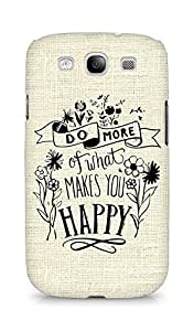 AMEZ do more of what makes you happy Back Cover For Samsung Galaxy S3 Neo