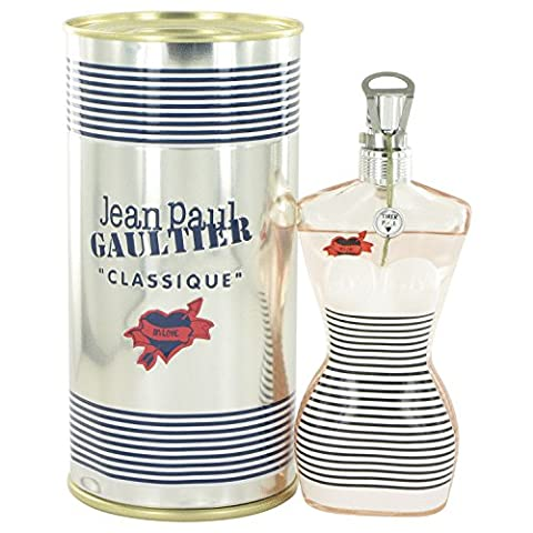 Jean Paul Gaultier In Love by Jean Paul Gaultier Eau De Toilette Spray (The Sailer Girl Collector) 3.3 - Jean Paul Gaultier Le Male Summer Fragrance