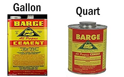 Amazon Com 1 Gallon Barge Cement Glue Rubber Contact