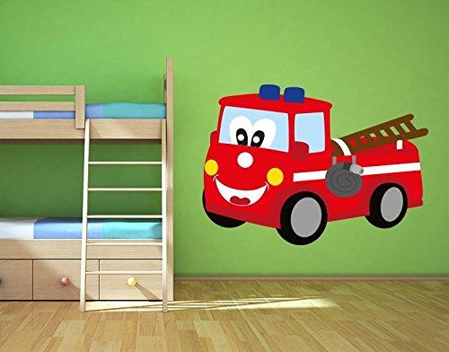 Kinderzimmer feuerwehr look die neuesten innenarchitekturideen - Wandsticker feuerwehr ...