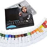 TwinkleVerse Art Supplies 18 Artist Quality Acrylic Paint Set, 12ml