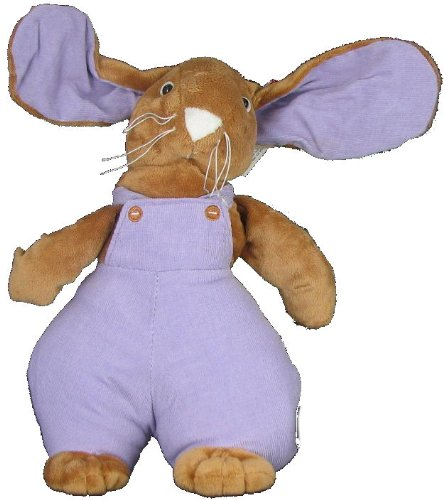 Plush Stuffed Boy Bunny Rabbit in Purple by Gitzy - 1