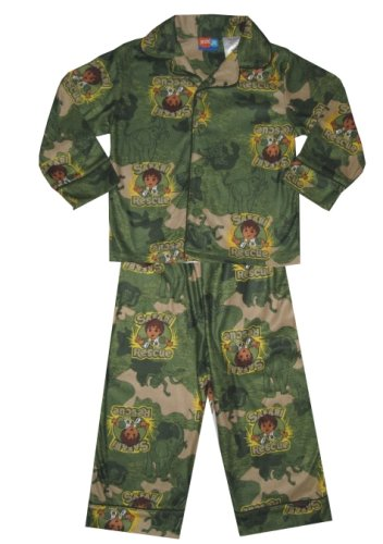 Buy Go Diego Safari Rescue Flannel Pajama Set for boys