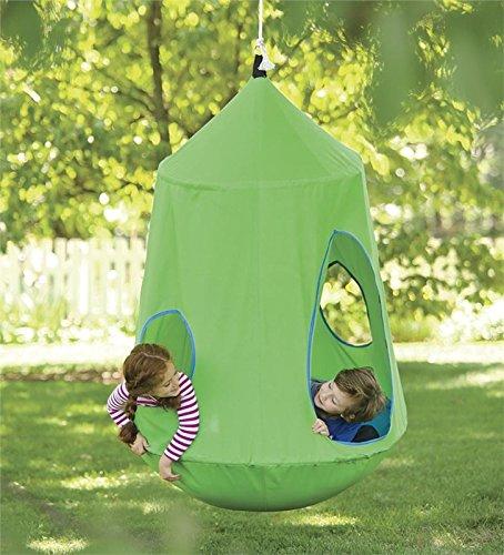 HugglePod® HangOut Hanging Chair, 54'' x 44'', in Green