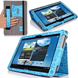 MoKo Slim Cover Case For Samsung Galaxy Note 10.1 N8000 N8010 N8013 Tablet, Cutie Charms BLUE (with Flip Stand...