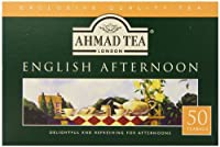 Ahmad Tea English Afternoon Teabag, 50 Count (Pack of 12)