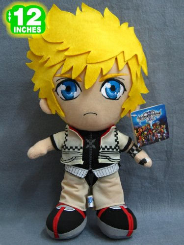 Kingdom Hearts 2: NEW standing Roxas 12-inch plush image