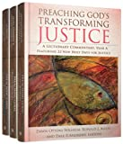 img - for Preaching God's Transforming Justice, Three-Volume Set: A Lectionary Commentary book / textbook / text book