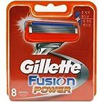 Gillette Fusion Power 8-Pack Razor Bl...