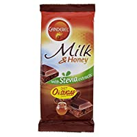 Canderel SugarFree Chocolate Diet 0% sugar 85g (Milk & Honey With Stevia Extracts)