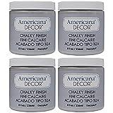 DecoArt ADC-27 Americana Chalky Finish Paint, 8-Ounce, Yesteryear (F?ur ???k) (Color: 1, Tamaño: F?ur ???k)