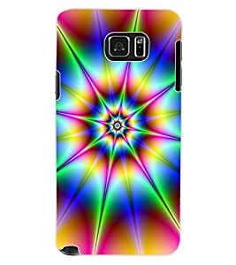 ColourCraft Colour Abstract Design Back Case Cover for SAMSUNG GALAXY NOTE 5