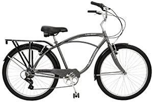 Schwinn Lakeshore Men's Cruiser Bike (26-Inch Wheels)