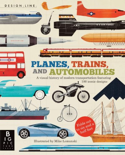 Design Line - Planes, Trains, and Automobiles ISBN-13 9780763671211