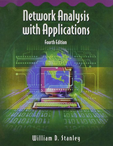 Network Analysis with Applications (4th Edition)