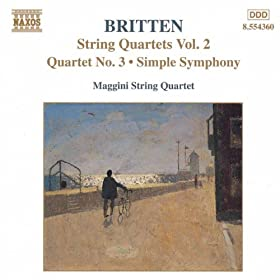 String Quartets No. 3 / Simple Symphony