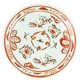 九谷焼 9号 盛皿 赤絵 K4-470