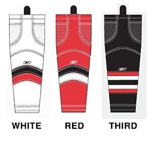 Maska - Reebok U.S. Inc SX100 NHL Edge Intermediate Hockey Socks - Ottawa Senators by Maska
