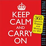Workman Keep Calm and Carry On 2015 Page-A-Day Calendar