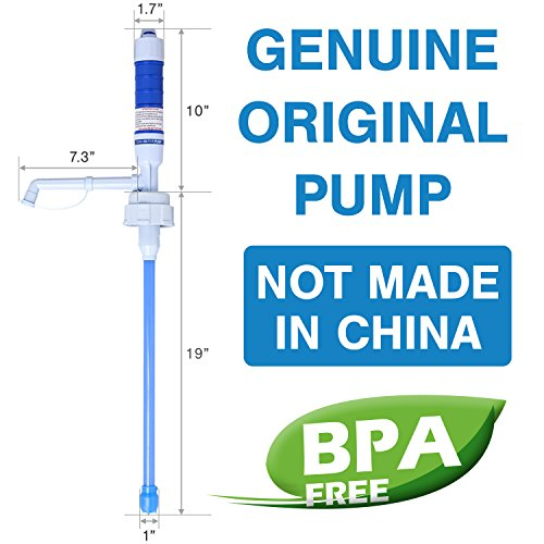 TERAPUMP TRPMW100 2D BATTERY OPERATED DRINKING WATER PUMP (EXCEPT GLASS BOTTLES) - BPA FREE... (Bpa Free Water Jug 1 Gallon compare prices)