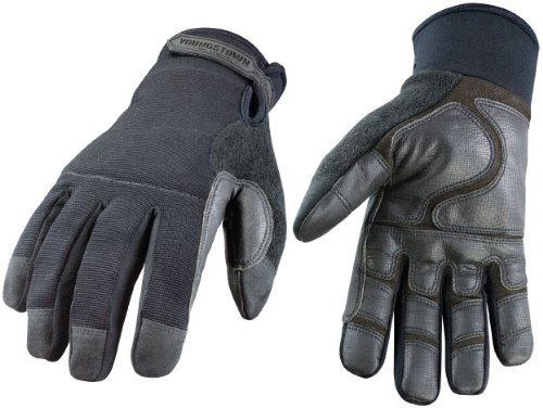 Youngstown Glove 08-8450-80-L Military Work Glove - Waterproof Winter Large