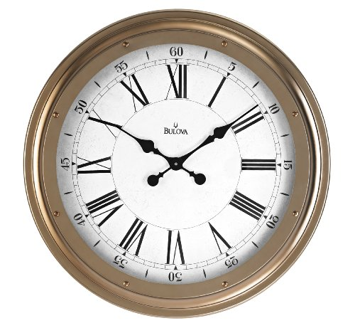 bulova-wingate-decorative-wall-clock
