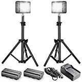 Bestlight® Double LED-204 Multi-Functional LED Video Light with 32