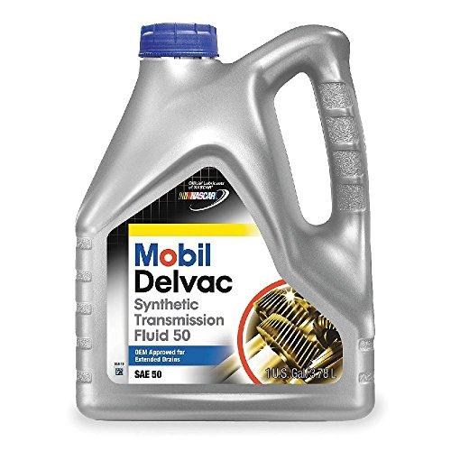Mobil (112812-4PK) Delvac Synthetic Transmission Fluid 50 - 1 Gallon, (Pack of 4) (Transmission Fluid Mobile 1 compare prices)